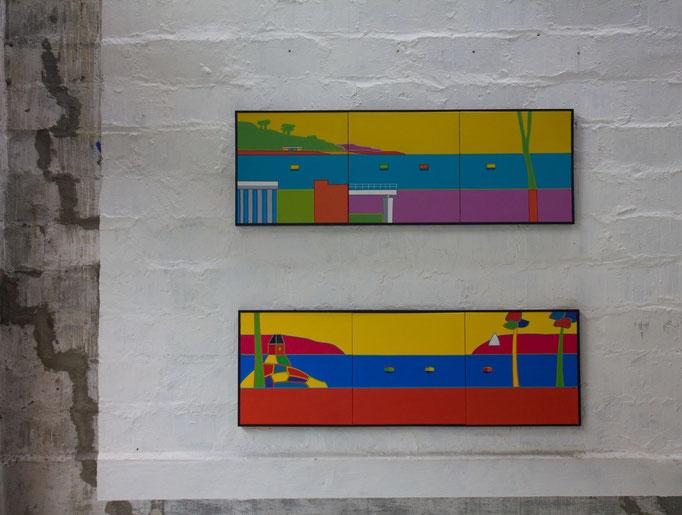 Peinture, conversation avec l'image - tableaux Thierry Le Baler