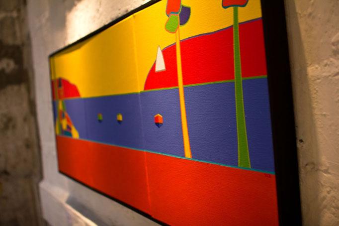 Peinture, conversation avec l'image - tableau Thierry Le Baler