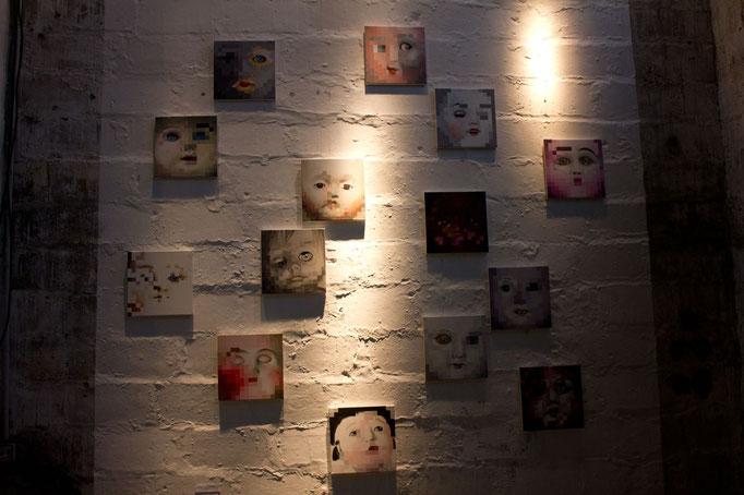 Peinture, conversation avec l'image - portraits Nathalie Si Pié