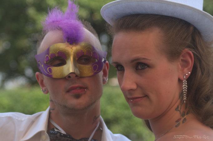"""""""Komm, wir machen einfach mal etwas womit keiner rechnet ..."""" -Mimelmurmels Logik-  Hochzeitfotografie - Samara Blue/Kerstin Ellinghoven - Fotografin in Krefeld - Lady-Sahmara-Photo"""