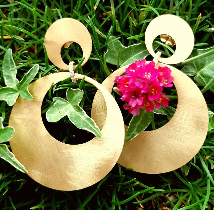 ohrhaenger-ohrstecker-silber-vergoldet-925-warmer goldton-leicht-70mm-zirkonia