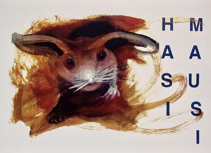 HASI MAUSI  PostcART