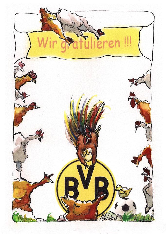 BVB-Fan wird Vater A5 2015