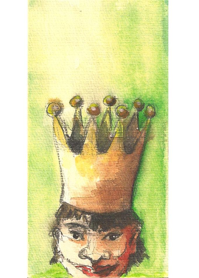 Der königliche Bote   2011  PostcART