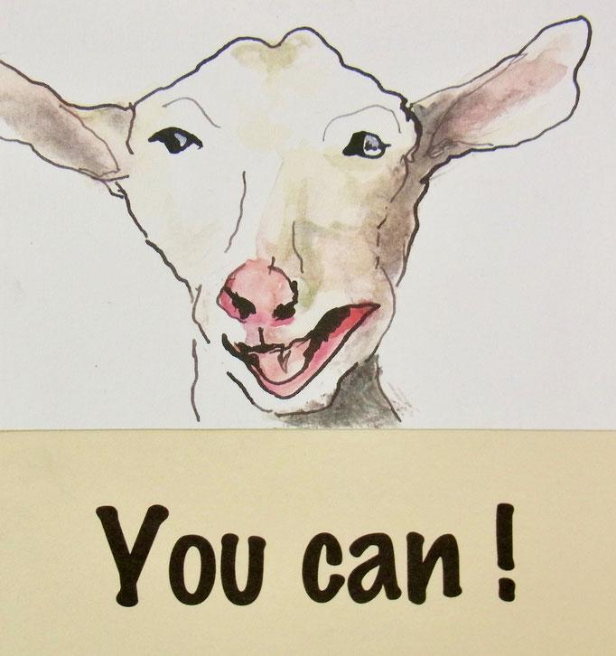 YOU CAN !  PostcART