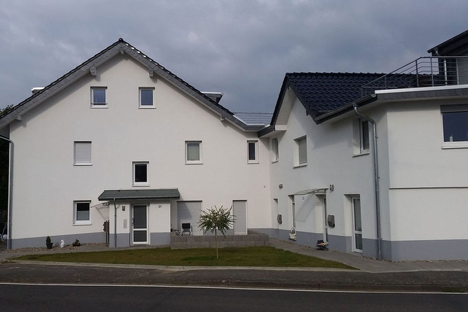 Dachsanierung eines Wohnhauskomplexes