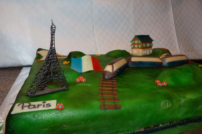 TGV Paris Torte