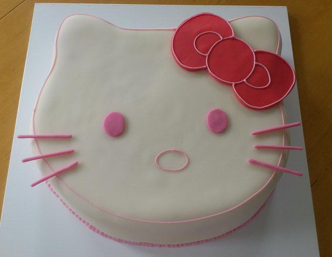 Hello Kitty Torte rosa
