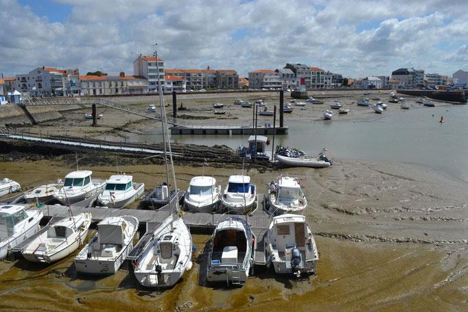 Hafen in Gilles-Croix-de-Vie