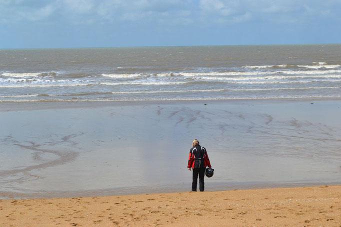 Strandspaziergang am Atlantik
