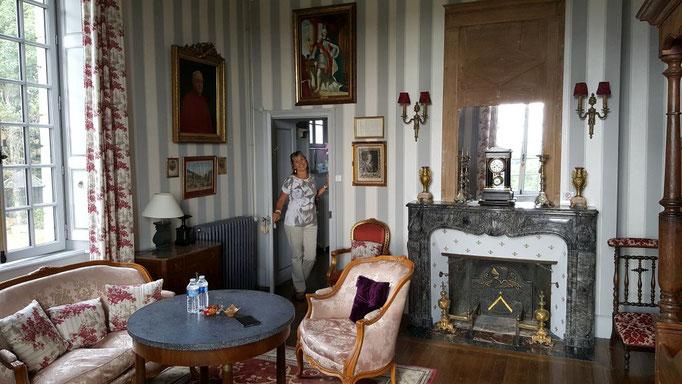 Luxuriöse Unterkunft im Chambre de Cardinal