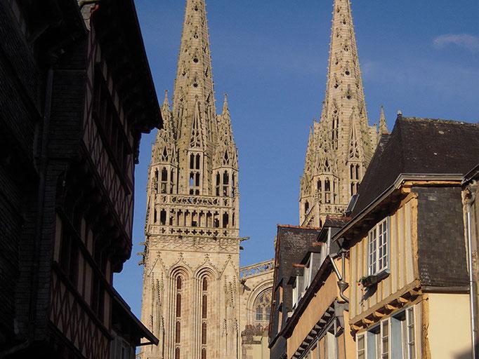 Quimper mit Kathedrale
