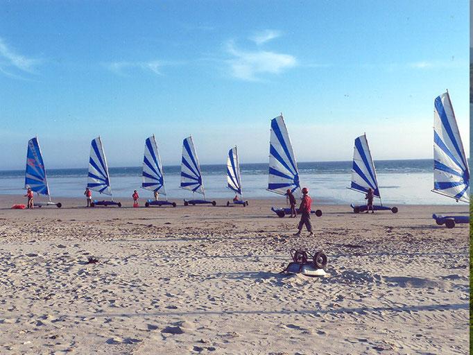 Strandsegelkurse in Penhors