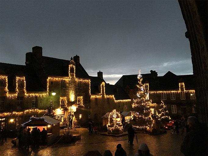Locronan Weihnachtsmarkt