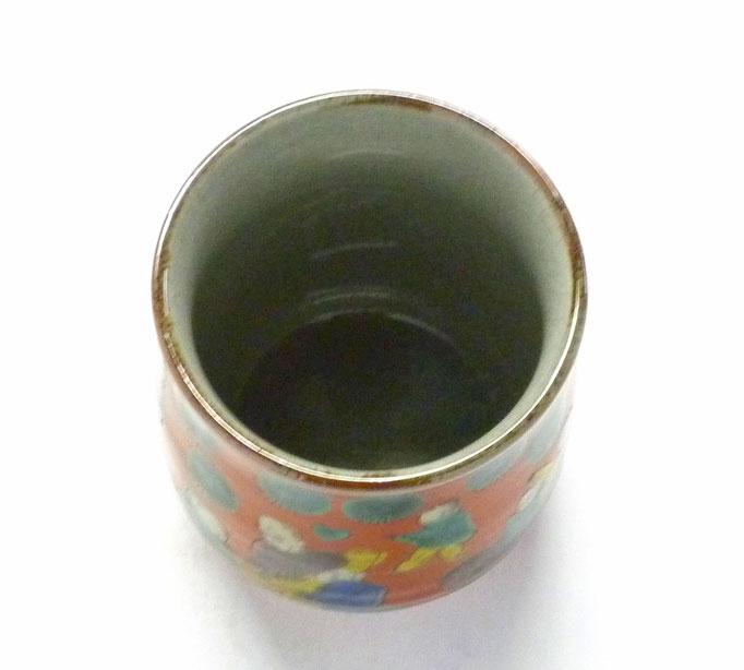 九谷焼【お湯呑】大 木米写し【裏絵】