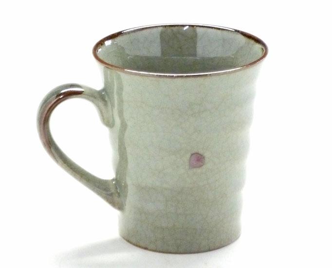 九谷焼『マグカップ』ソメイヨシノ『裏絵』