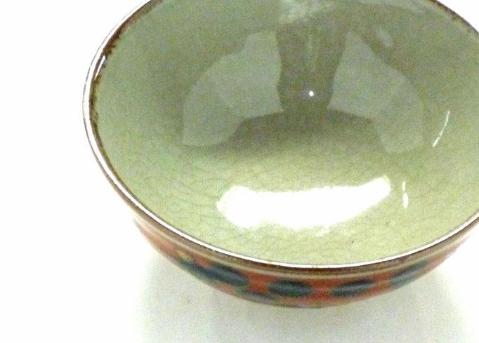 九谷焼通販 おしゃれ ギフト 飯碗 ご飯茶碗 ちゃわん 大 木米写し 唐子