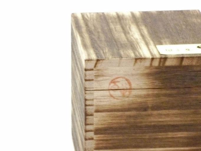 九谷焼酒井百華園 焼き塗装木箱