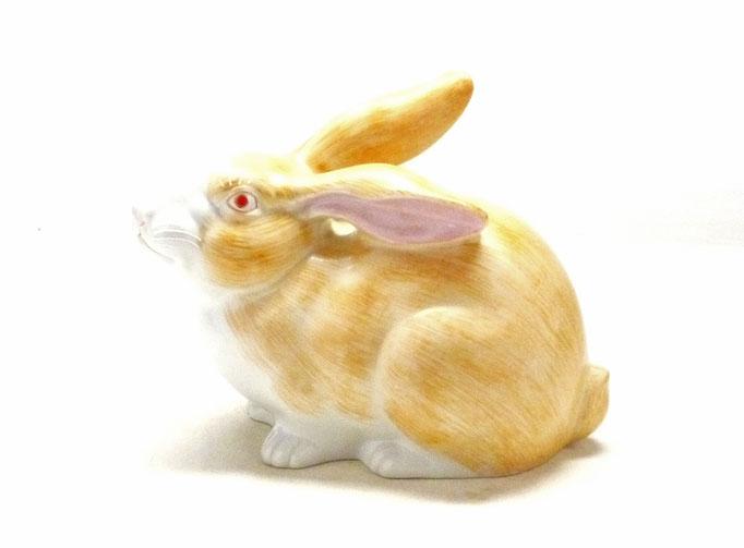 九谷焼 干支 置物 インテリア 卯 ウサギ 現品限り