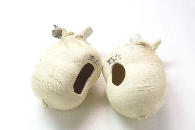 九谷焼 干支 置物 インテリア 未 夫婦 福呂未