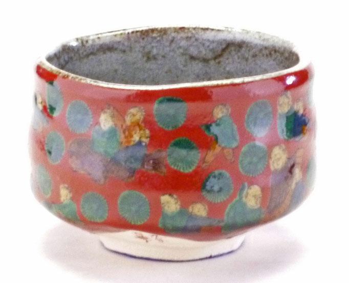 九谷焼【抹茶碗】木米(もくべい)写し