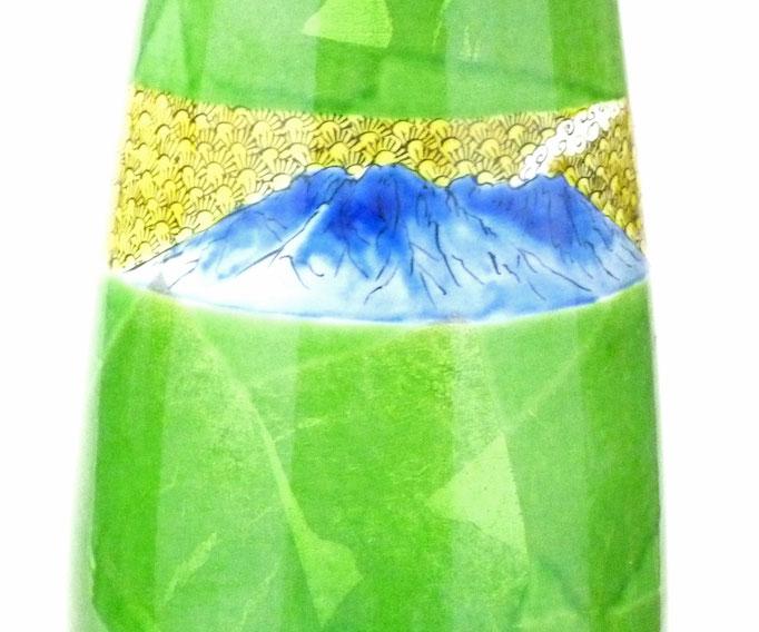 九谷焼通販 おしゃれ ランプ シェード インテリア 銀箔 銀彩 鹿児島県 桜島 ギフト 透光性粘土