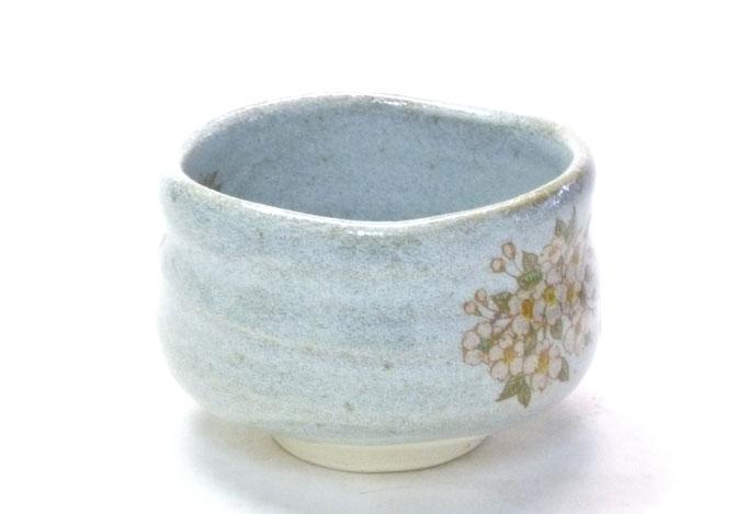 九谷焼通販 おしゃれ 抹茶茶碗 抹茶碗 桜