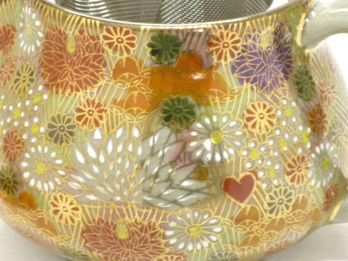 九谷焼酒井百華園 茶器