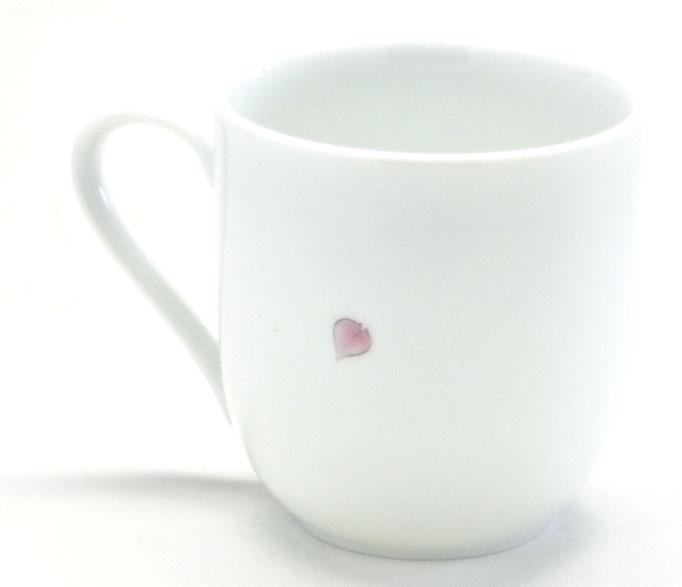 九谷焼【マグカップ】(磁器)ソメイヨシノ 中裏絵