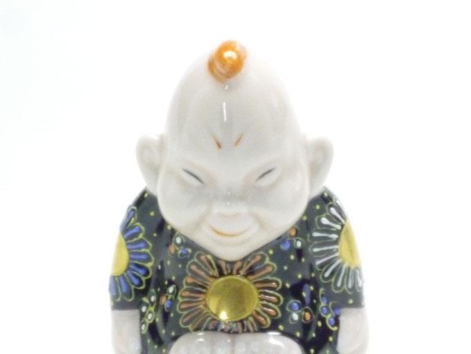 九谷焼 ビリケン デコ盛