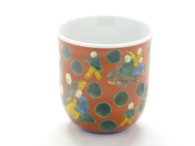 九谷焼 マグカップ磁器 木米写し