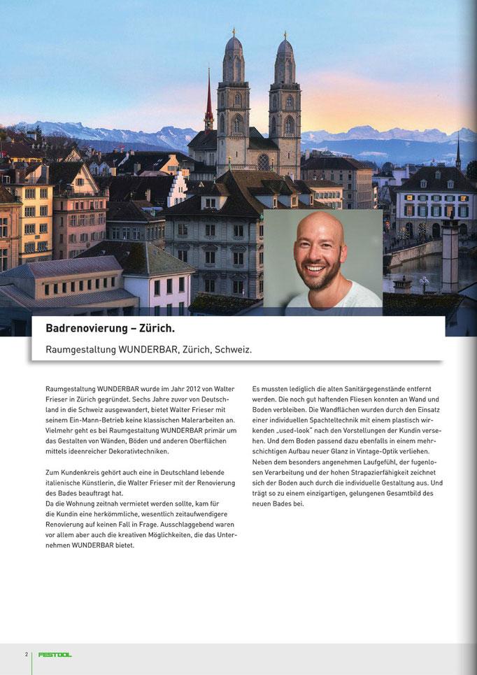 Wunderbares Handwerk aus Leidenschaft in Zürich