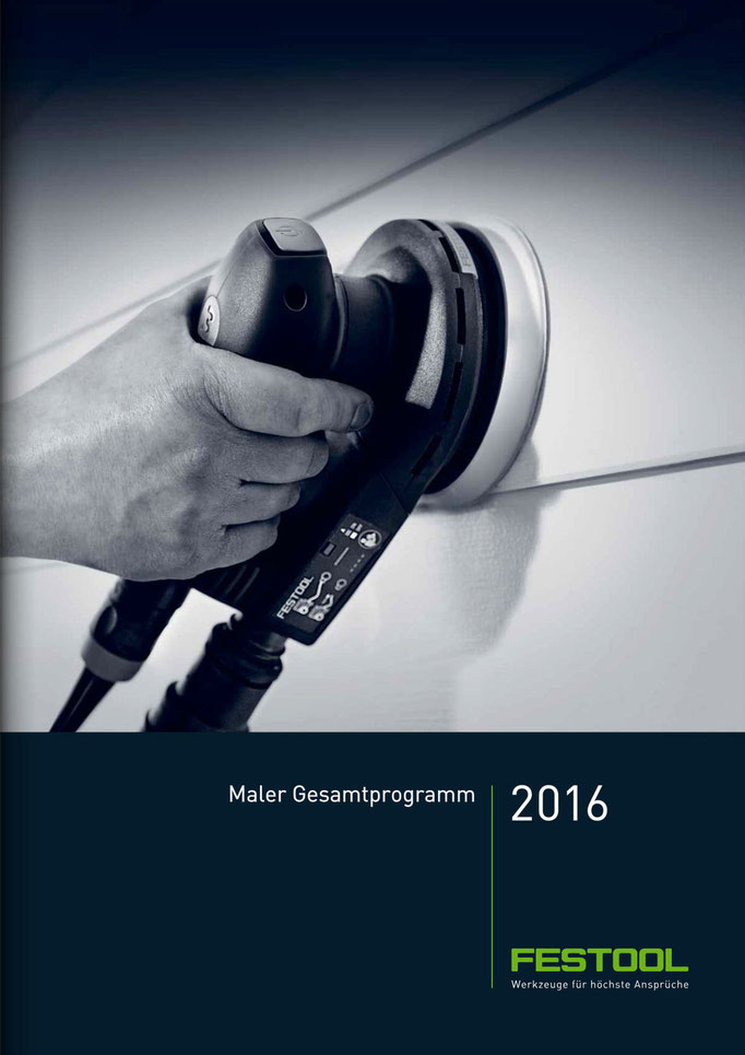 Präzisionswerkzeuge europaweit im Festool Katalog 2016
