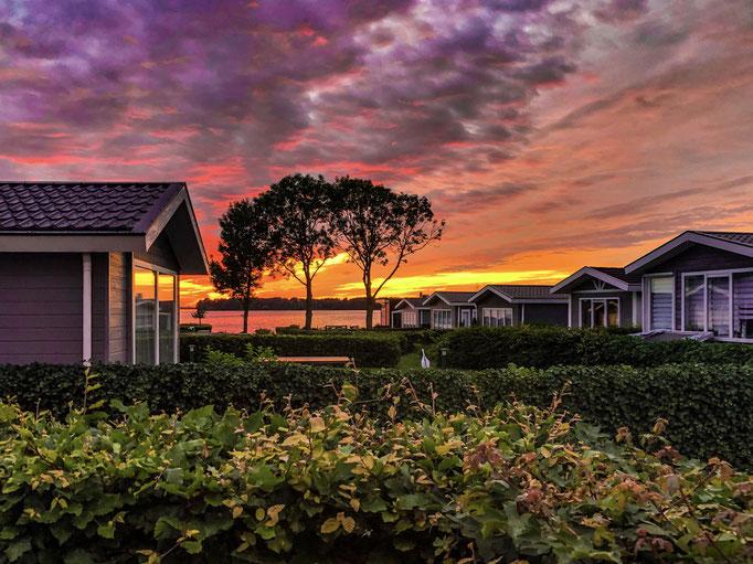 Droompark Bad Hoophuizen - Sonnenuntergang