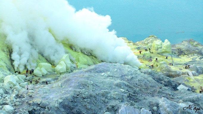 Indonésie - Volcan Kawa Idjen