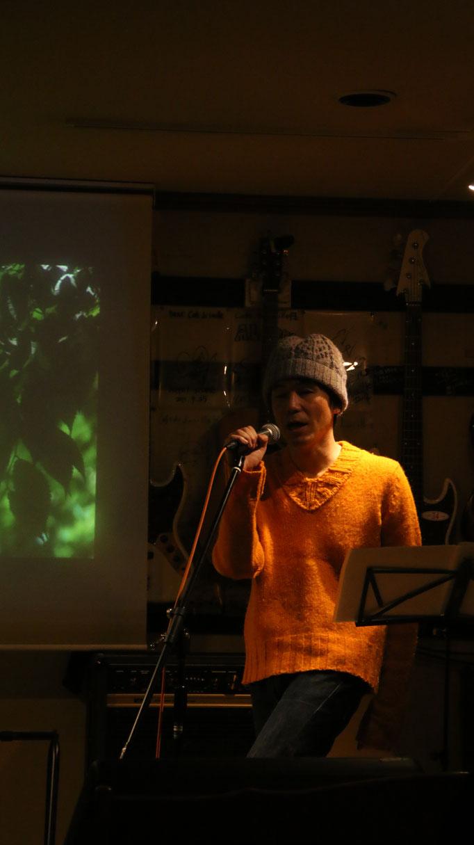 2017.12.28写真展「公園の角を駆け抜けてvol.1」ライブ ~Music Photo Live~ 武田こうじ
