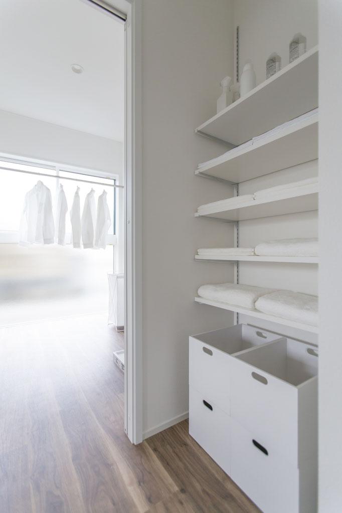 家事動線と収納の無駄のない配置