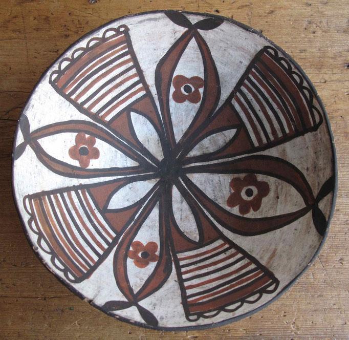 """2301 Isleta Bowl c.1910 3.5x10"""" $1500"""