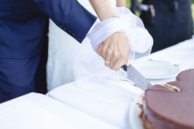 Details Hochzeit NRW Torte