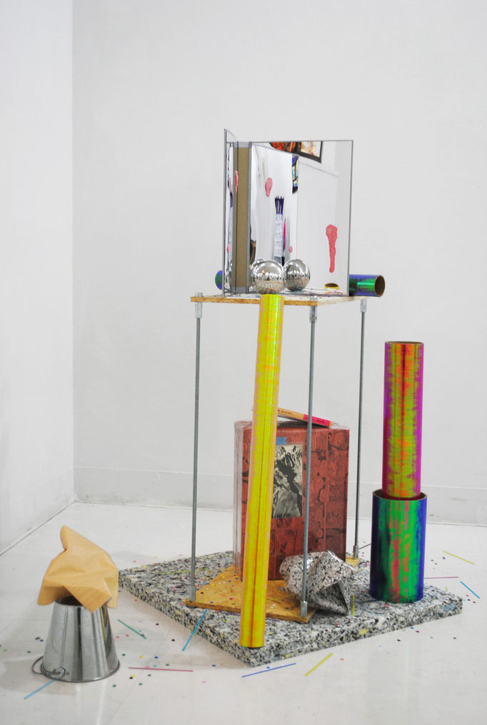 《SYNTAX(for a pedestal)》/2012/ミクストメディア/新宿眼科画廊「Unknown Possibility11」展