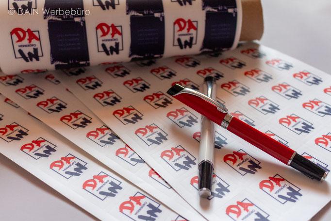 Kugelschreiber, Aufkleber - DAINe Werbeagentur Gotha und Eisenach
