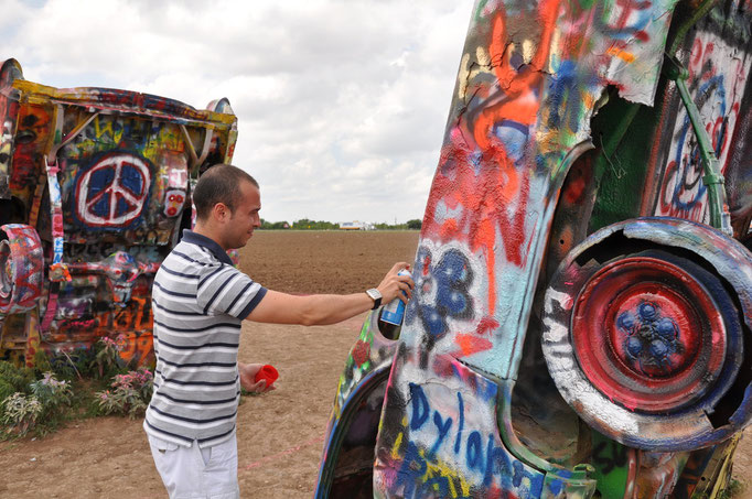 Amarillo - Texas - Cadillac Ranch