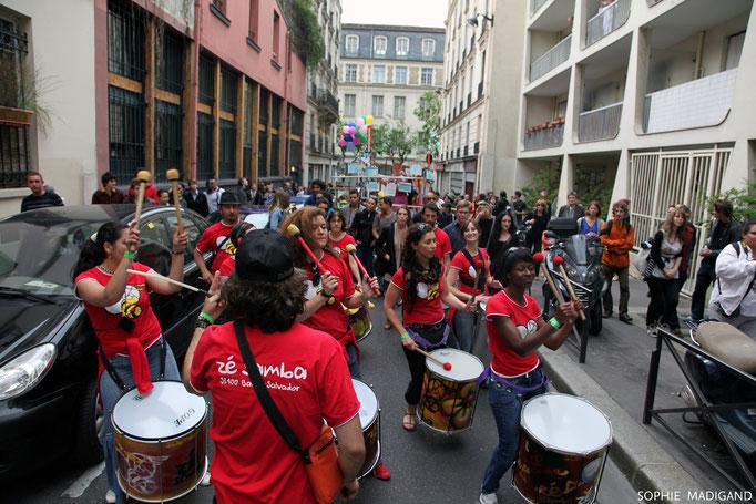 Batucada Zé Samba © Sophie Madigand