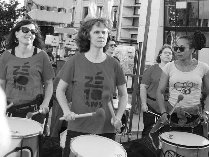 Batucada Zé Samba - Fêté de la Musique 2018 - Crétits : Sylvie Rouquet et Jérôme Lequen