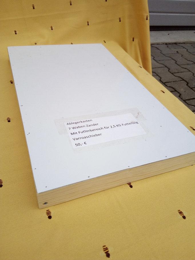 Außendeckel mit weißer Beschichtung