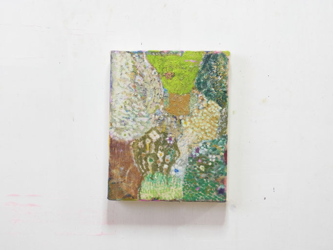 彷徨う,24 x 19 cm,oil on canvas