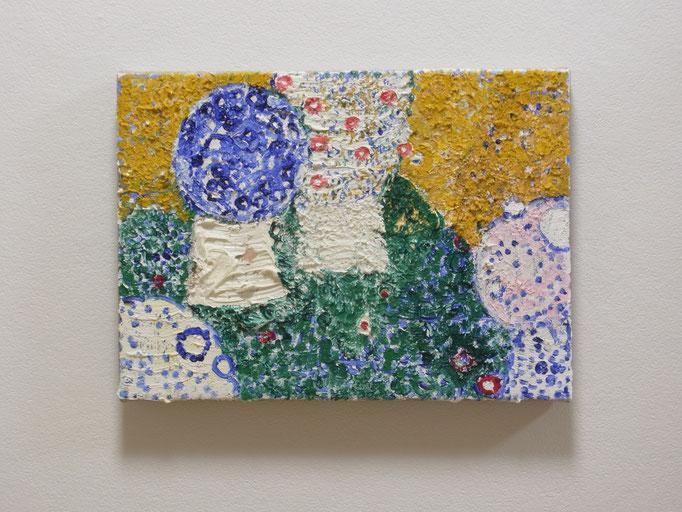 彷徨う,24.2 x 33.3 cm,oil on canvas