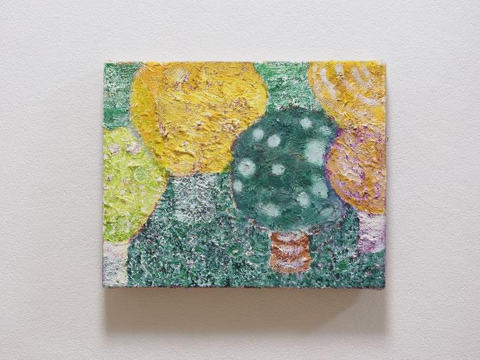 彷徨う,27.3 x 22 cm,oil on canvas