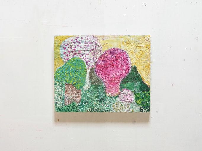 彷徨う,22 x 27.3 cm,oil on canvas