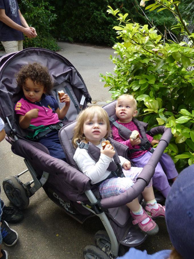 Ausflug Zoo: Pauline, Kimorah, Anastasia